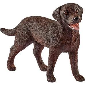 Schleich - 13834 - Figurine Labrador Retriever, femelle - Dimension : 7,4 cm x 2 cm x 5 cm (333538)