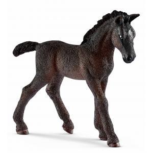 Schleich - 13820 - Figurine Poulain Lipizzan - Dimension : 8,7 cm x 2,4 cm x 8,1 cm (333566)