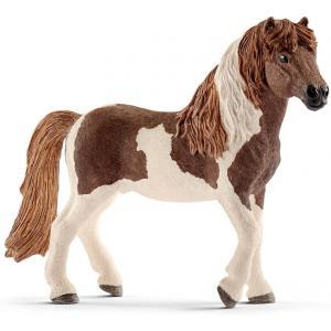 Schleich - 13815 - Figurine Étalon poney islandais - Dimension : 14 cm x 4 cm x 9,5 cm (333574)
