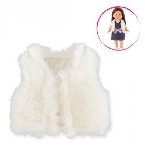 Corolle - DYK25 - Ma Chérie veste sans manches (fausse fourrure) - taille 36 cm - âge : 4+ (333684)