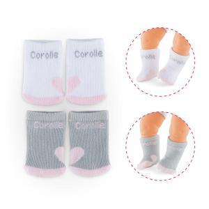 Corolle - DMC19 - Bb36/42 2 paires de chaussettes - taille 36-42cm - âge : 2+ (333728)
