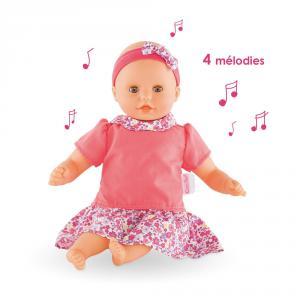 Corolle - FBM71 - Mon 1° bébé câlin mélodie - taille 30 cm à partir de 18+ (333760)