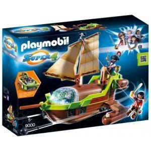 Playmobil - 9000 - Bateau pirate Caméléon avec Ruby (333812)