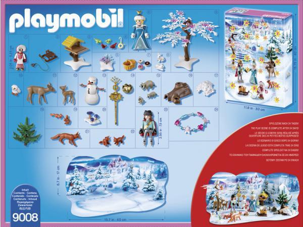 Calendrier L Avent Playmobil.9008 Calendrier De L Avent Famille Royale En
