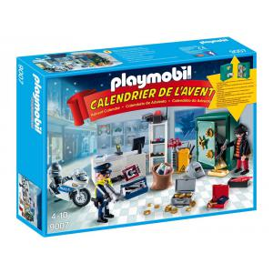 Playmobil - 9007 - Calendrier de l'Avent 'Policier et cambr (333852)