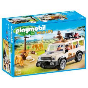 Playmobil - 6798 - Aventuriers avec 4x4 et couple de lions (333862)
