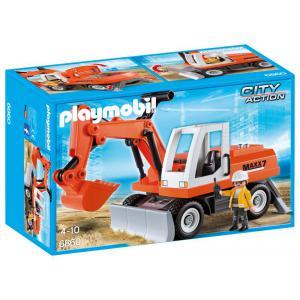 Playmobil - 6860 - Tractopelle avec godet (333872)