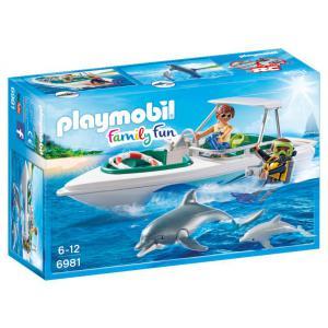 Playmobil - 6981 - Bateau de plongée (333922)