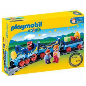 Playmobil - 6880 - Train étoilé avec passagers et rails (333928)