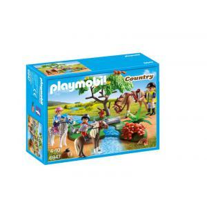 Playmobil - 6947 - Cavaliers avec poneys et cheval (333940)
