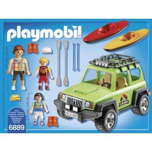 Playmobil - 6889 - 4x4 de randonnée avec kayaks (333956)