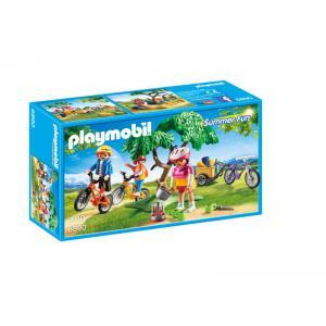 Playmobil - 6890 - Cyclistes avec vélos et remorque (333958)
