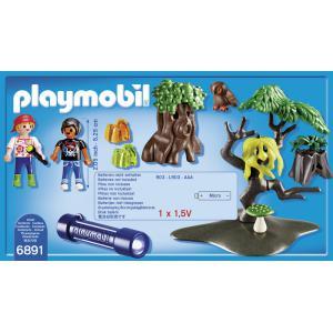 Playmobil - 6891 - Enfants avec végétation et lampe torche (333960)