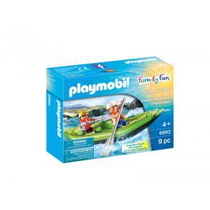 Playmobil - 6892 - Enfants avec radeau pneumatique (333962)
