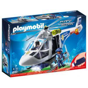 Playmobil - 6921 - Hélicoptère de police avec projecteur de (333968)