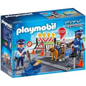 Playmobil - 6924 - Barrage de police (333974)