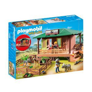Playmobil - 6936 - Centre de soins pour animaux de la savane (333978)
