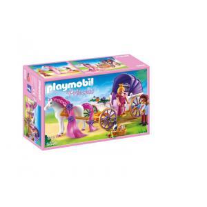 Playmobil - 6856 - Calèche royale avec cheval à coiffer (333994)