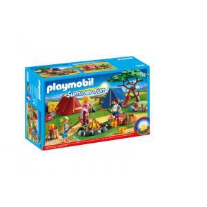 Playmobil - 6888 - Tentes avec enfants et animatrice (334024)