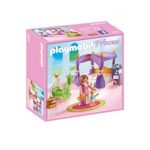 Playmobil - 6851 - Chambre de la reine avec lit à baldaquin (334056)