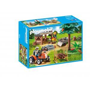 Playmobil - 6814 - Véhicule de débardage avec bûcherons (334068)