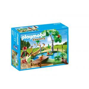 Playmobil - 6816 - Ilot avec pêcheur et animaux (334072)