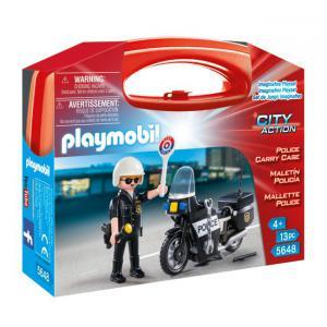 Playmobil - 5648 - Valisette Police (334076)