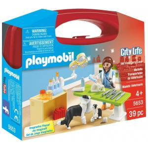 Playmobil - 5653 - Valisette Vétérinaire (334082)