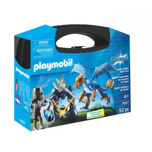 Playmobil - 5657 - Valisette Chevaliers du Dragon (334086)