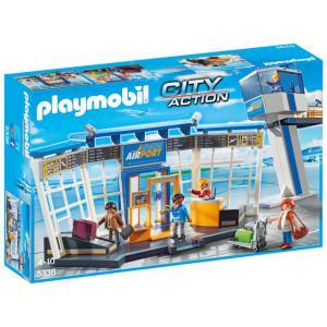 Playmobil - 5338 - Aéroport avec tour de contrôle (334104)