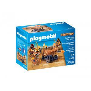 Playmobil - 5388 - Soldats du pharaon avec catapulte (334110)