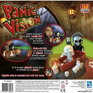 Megableu editions - 678098 - Panic vision - jeu de société dés 5 ans (334136)