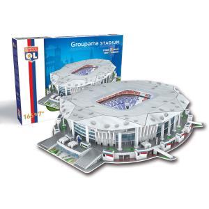 Megableu editions - 33002 - Puzzle 3D Parc olympic lyonnais (334146)