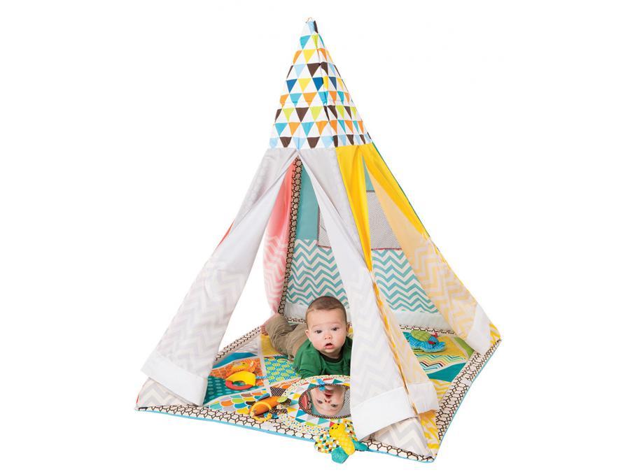 infantino teepee tapis de jeux evolutif. Black Bedroom Furniture Sets. Home Design Ideas