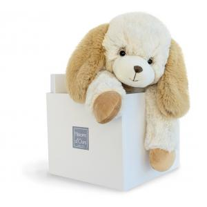 Histoire d'ours - HO2722 - Softy - chien écru MM - Taille 45 cm (334286)