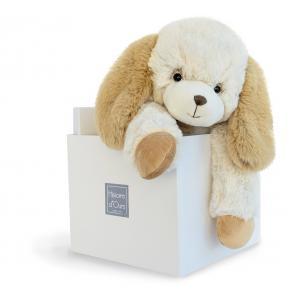 Histoire d'ours - HO2722 - Softy - chien ecru moyen modèle - 45 cm - boîte cadeau (334286)