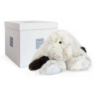 Histoire d'ours - HO2731 - Softy - lapin Ulysse MM - Taille 30 cm (334298)