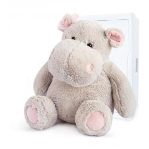 Histoire d'ours - HO2629 - Hippo girl - 38 cm - boîte cadeau (334328)