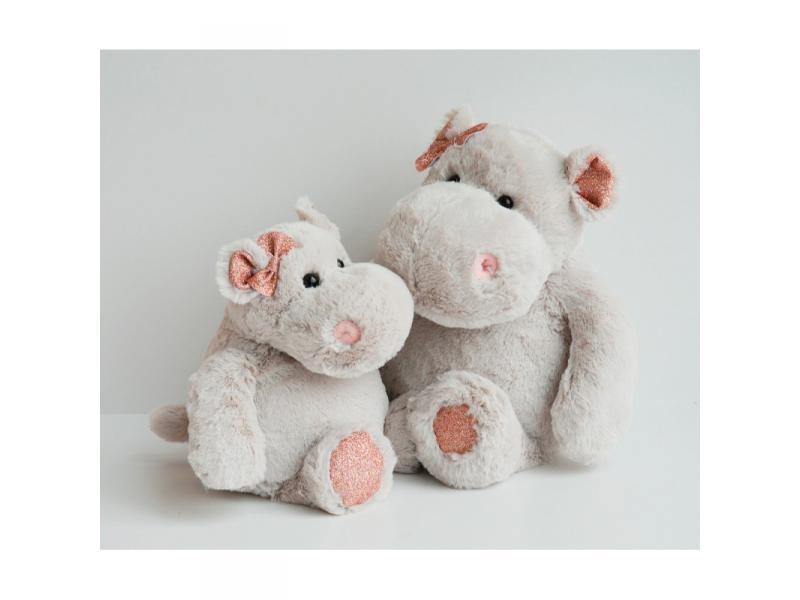histoire d 39 ours hippo girl 38 cm bo te cadeau. Black Bedroom Furniture Sets. Home Design Ideas