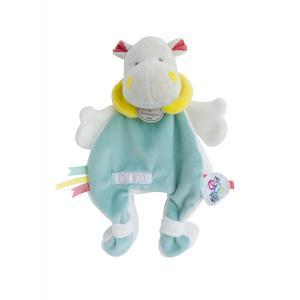 Doudou et compagnie - DC3146 - Doudou tatoo - doudou cape hippo - Taille 25 cm (334580)