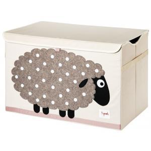 3 Sprouts - 107-001-009 - Coffre à jouets Mouton (334640)