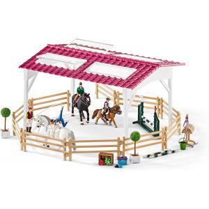 Schleich - 42389 - École d'équitation + cavalière (334692)