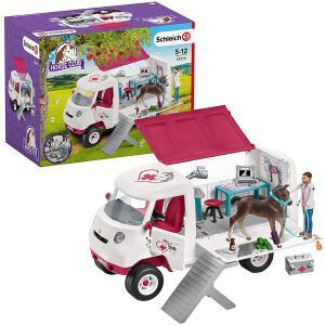 Schleich - 42370 - Vétérinaire mobile avec poulain hanovrien (334694)