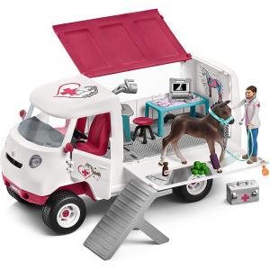 Schleich - 42370 - Vétérinaire mobile + poulain (334694)