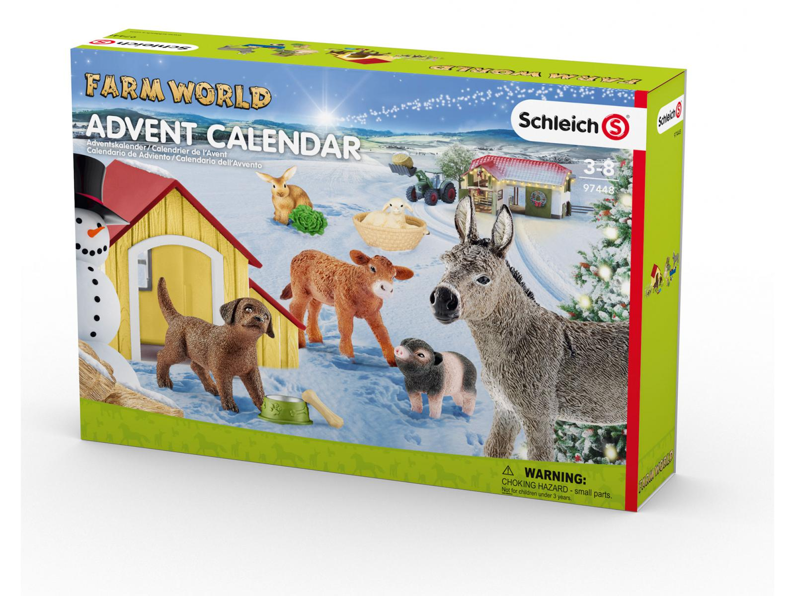 schleich calendrier de l 39 avent farm world 2017. Black Bedroom Furniture Sets. Home Design Ideas