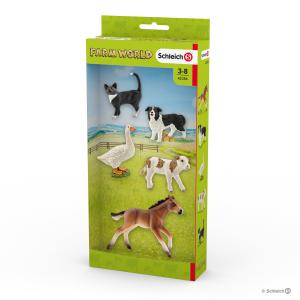 Schleich - 42386 - Figurine Asst animaux Farm World 13,5 cm x 4,5 cm x 30 cm (334742)