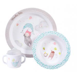 Moulin Roty - 663230 - Set vaisselle Les Petits dodos (334966)