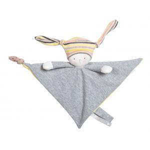 Moulin Roty - 663016 - Doudou attache tétine Nin-Nin le lapin Les petits dodos (334984)