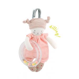Moulin Roty - 663004 - Chat anneau billes Les petits dodos (335056)