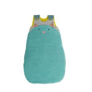 Moulin Roty - 660087 - Sac de couchage 70 cm chat bleu Les Pachats (335280)